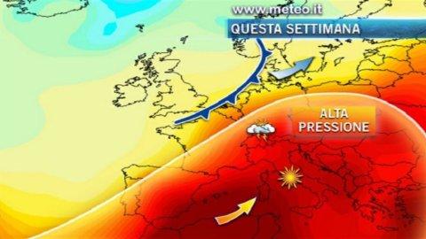 Arriva Scipione, il vento che porta il caldo dall'Africa: giovedì ci sarà il picco