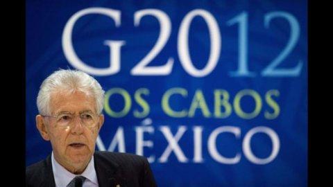 G20, Monti: fondo Efsf compri bond Eurozona