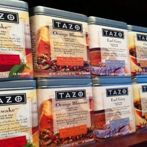 Starbucks si lancia nel business del tè con il marchio Tazo