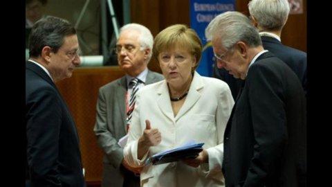 Monti rivede Merkel: superare resistenze su anti-spread