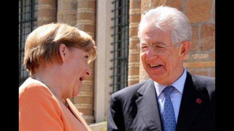 Monti e Merkel a Villa Madama: pace fatta, ora la crescita