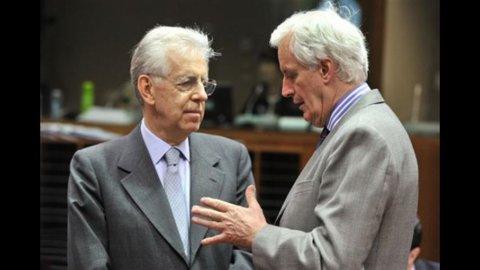 Ecofin, banche: Monti critica proposta Ue su Fondo anti-crisi