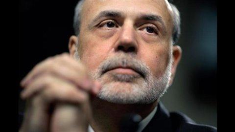 Il presidente Fed, Bernanke, riconosce che l'economia rallenta ma delude i mercati: niente stimoli