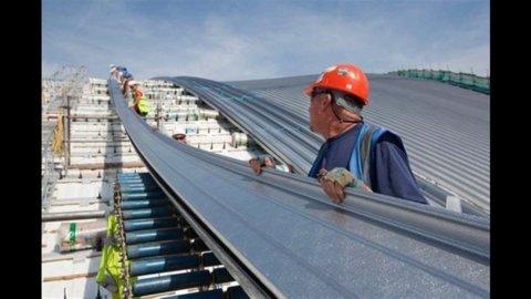 Costruzioni, Istat: produzione gennaio -1,4%