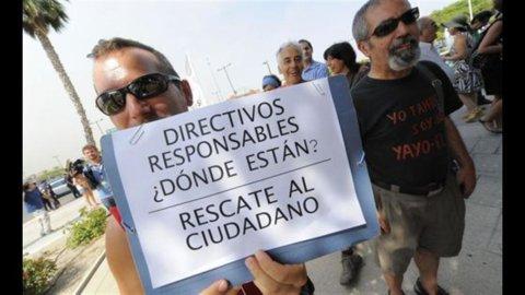 Spagna: prestiti in sofferenza banche all'8,95%, massimo dal 1994