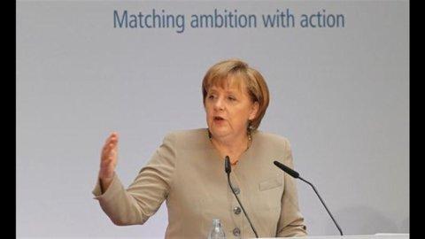 Asta Germania: tassi negativi sui titoli a 2 anni, -0,06%