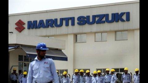 India, serrata della Maruti Suzuki