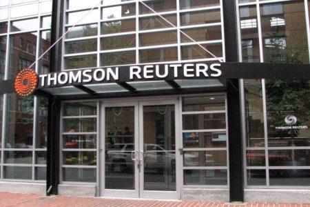 Thomson Reuters annuncia il taglio di 3.200 posti di lavoro