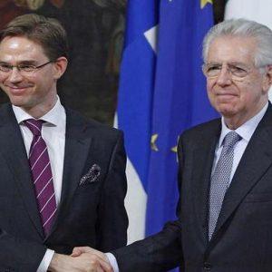 Monti a tutto campo: dal duello Draghi-Bundesbank ai necessari interventi Ue sugli spread