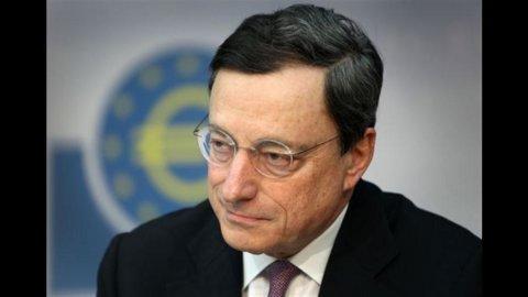 Draghi, Bce tornerà a comprare bond fra qualche settimana se Stati faranno la loro parte