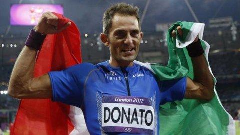Londra 2012, anche l'atletica ha la sua medaglia: Fabrizio Donato è bronzo nel salto triplo