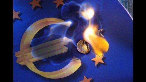 Eurostat, Pil Ue 17 negativo: -0,4% nel secondo trimestre