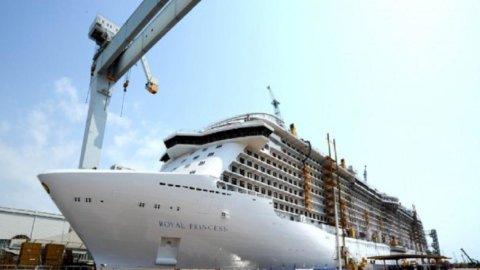 Fincantieri: varata Royal Princess, la nave più grande mai costruita in Italia