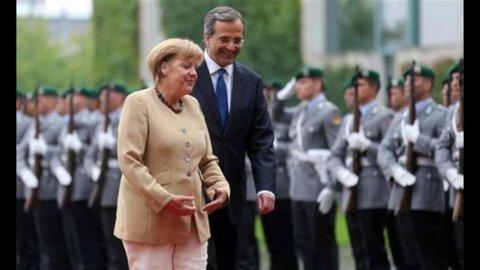 Merkel, Samaras e il pressing dei falchi