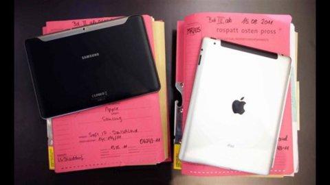 Brevetti, Apple batte Samsung che dovrà pagare 1 miliardo di dollari