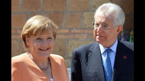 Oggi Monti da Merkel a Berlino per rilanciare lo scudo anti-spread