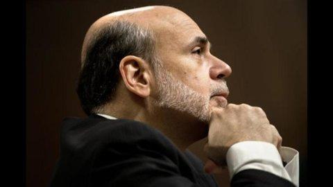 La cauta apertura di Bernanke a nuovi stimoli dà slancio alle Borse e Milano guadagna oltre il 2%
