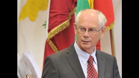 Van Rompuy: bene Bce, spread ingiustificati