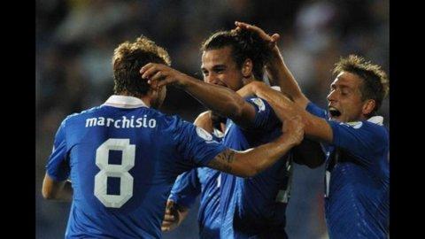 MUNDIAL 2014 – Sofferto pareggio dell'Italia in Bulgaria: 2 a 2 con doppietta di Osvaldo