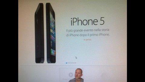 Apple, presentato l'iPhone 5: in Italia esce il 28 settembre