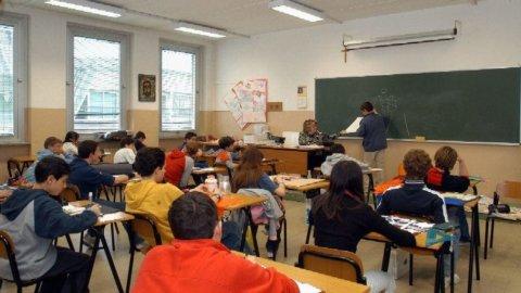 Scuola: contro-esodo insegnanti e cattedre scoperte al Nord