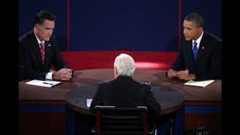 Usa, duello tv presidenziali: meglio Obama, ma Romney non cade