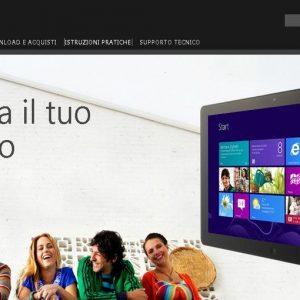 Windows 8 spinge il mercato degli schermi pc