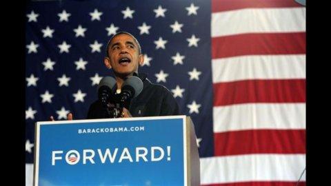 Elezioni Usa, Obama in vantaggio di un punto su Romney