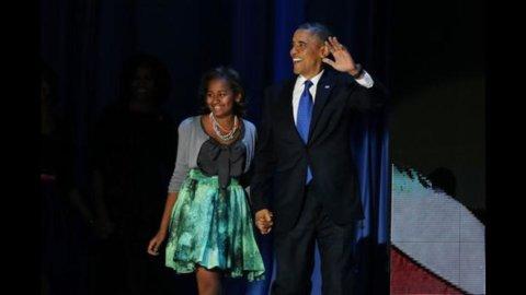 """Usa, Obama batte Romney 303 a 206: al democratico quasi tutti gli """"swing States"""""""
