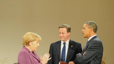 Voto Usa: Merkel contenta per Obama… ma non troppo