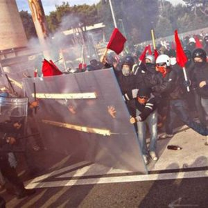 Sciopero generale: scontri a Roma, Torino e Padova
