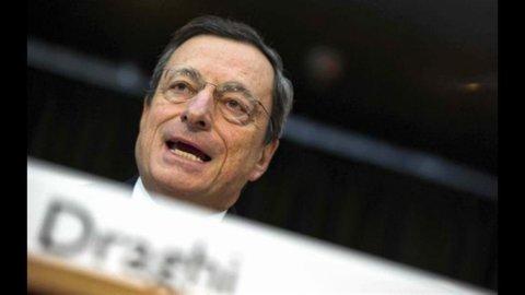 Draghi in Bocconi (con Monti): Il consolidamento deve essere basato sul calo della spesa corrente
