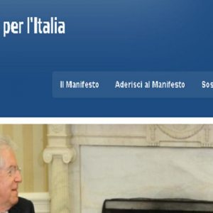 Un nuovo soggetto politico nel segno di Monti per una nuova politica che risani l'Italia