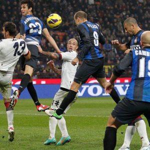 CAMPIONATO – Inter, pari al veleno (2 a 2) con il Cagliari e dure polemiche contro arbitro e Juve