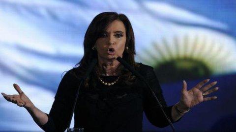 "Argentina a rischio crack, Kirchner: ""Non paghiamo"""
