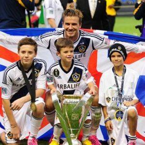 Beckham saluta l'America: addio in bellezza con la vittoria del titolo della Mls