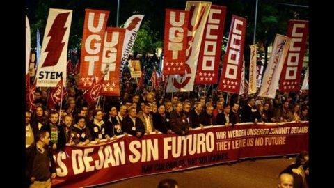 Spagna, quasi 5 milioni di disoccupati a novembre