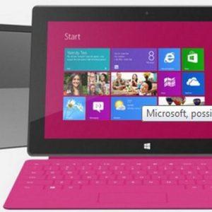 Microsoft: a gennaio arriva Surface Pro, il nuovo pc-tablet con Windows 8