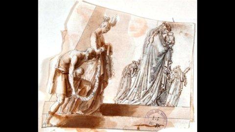 Roma, a Palazzo Braschi i disegni di Canova