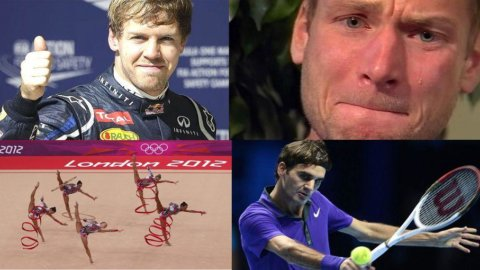 2012, un anno di sport: dal calcio alle Olimpiadi, passando per la sfida di F1 tra Alonso e Vettel