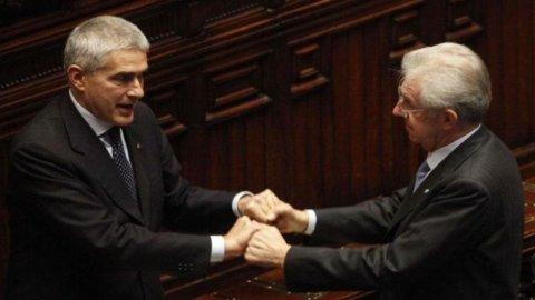 Monti incontra i leader del centro: si va verso la lista unica, almeno al Senato