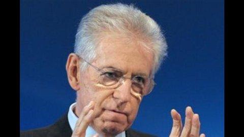 """Monti: """"Guiderò coalizione centrista"""". Ma aggiunge: """"Non sarò uomo della Providenza"""""""
