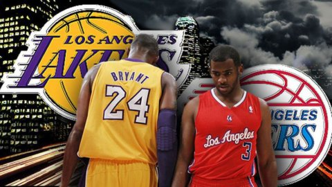 Basket, stasera il derby di Los Angeles: Clippers-Lakers, una partita che vale la storia