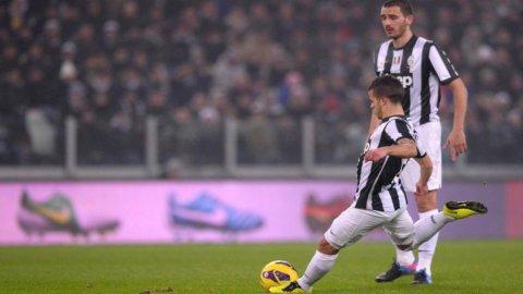 CAMPIONATO SERIE A – Poker della Juventus contro il Catania: 4 a 0