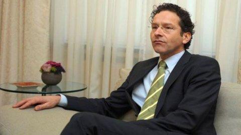 """Dijsselbloem: """"Probabile che servano nuovi aiuti ad Atene"""""""