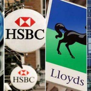 Bank of England: a 4 banche inglesi servono 27,1 miliardi di sterline