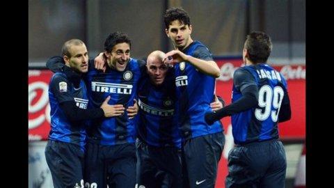 L'Inter risorge con Milito, 3-1 al Chievo