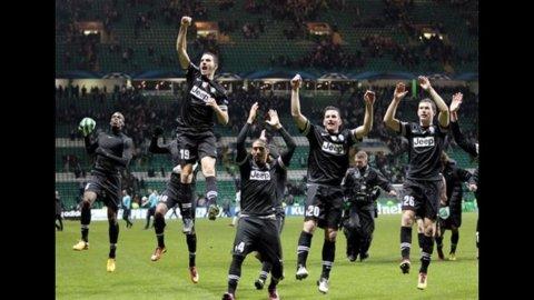 CHAMPIONS LEAGUE – Impresa Juve: trionfa con il Celtic e ipoteca i quarti