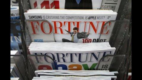 Time Warner mette in vendita la divisione magazine: Time, Sports Illustrated, Fortune e People