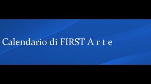 Calendario di FIRST Arte: dal 9 al 15 marzo